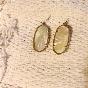 Kendra Scott Mother of Pearl Danielle Earrings